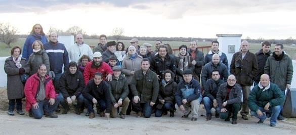 Visita a la ganadería de Sepúlveda de Yeltes y Los Bayones