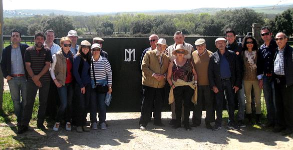 Visita a la ganadería de Montealto