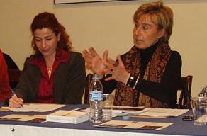 Dña. Isabel Carpio García y Dña. Rosario Gómez Vadillo