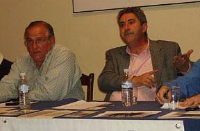D. Javier Gallego y D. Arturo Pérez. Ganaderos