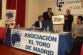 D. Joao Folque de Mendoza y D. José Escolar Gil. Ganaderos