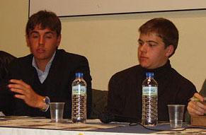 Miguel Tendero y Javier Cortés. Novilleros