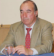 D. Álvaro Martínez Conradi. Encaste Santa Coloma. Ganadero