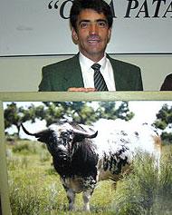 D. Victorino Martín García. Encaste Vega Villar. Ganadero