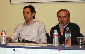 Domingo Navarro y Luis Carlos Aranda. Subalternos
