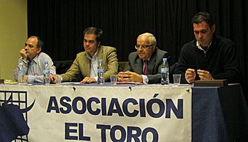 D. Mariano Cifuentes y D. Jesús Cobaleda. Ganaderos