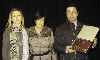 Dña. Carolina Fraile Cascón y D. Juan Luis Fraile Cascón. Ganader