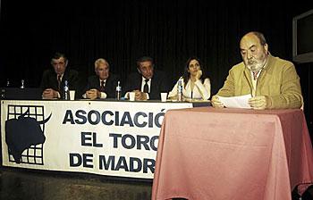 Solemne Acto de Entrega de Trofeos Anuales. Temporada 2011