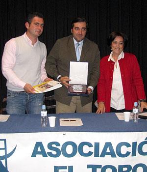 D. Ramón Gutiérrez. Representante de la ganadería de Navalrosal