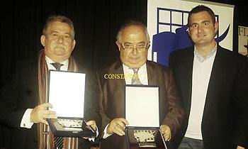 D. Trinidad López-Pastor y D. Javier Cano, presidentes Las Ventas