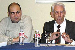 D. Luís Espada Simón y D. Pedro Antonio Naranjo. Presidentes