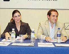 D. Miguel Fernández y Dña. Nuria Bargueño. Ganaderos