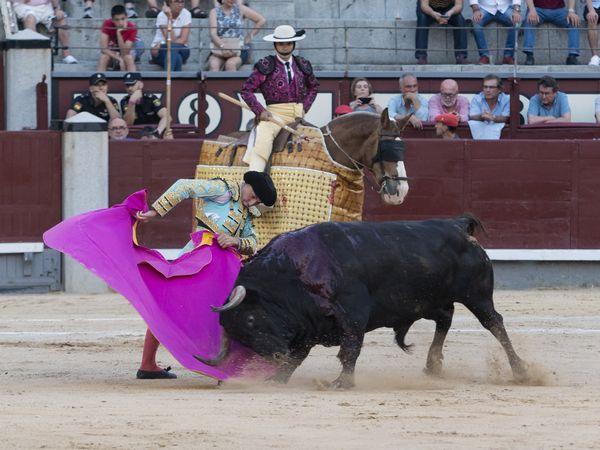 Una corrida de toros en toda regla