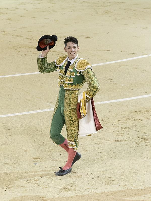 Pablo Mora, merecido triunfador