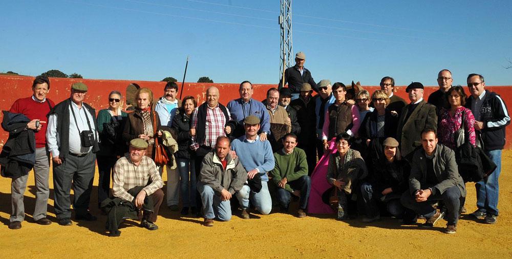 Visita a la ganadería Martín Lorca