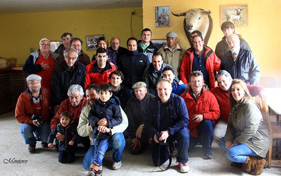 Visita a las ganaderías de Montealto y Aurelio Hernando