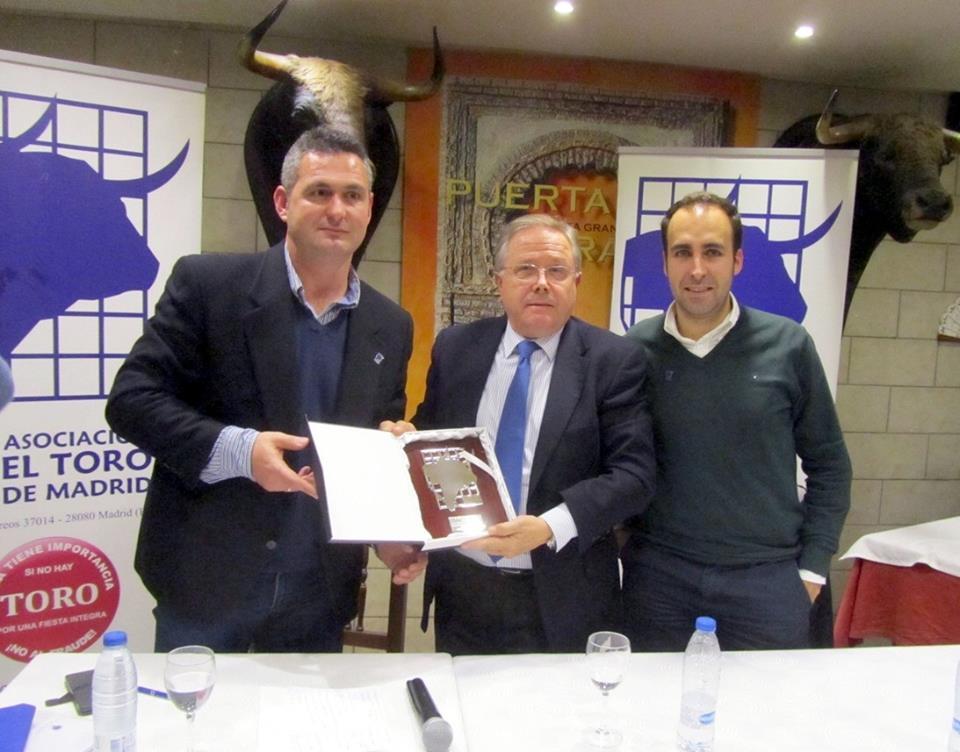 Tertulia con José Magán Alonso, presidente de Las Ventas