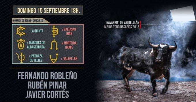 Corrida concurso de ganaderías, comentarios