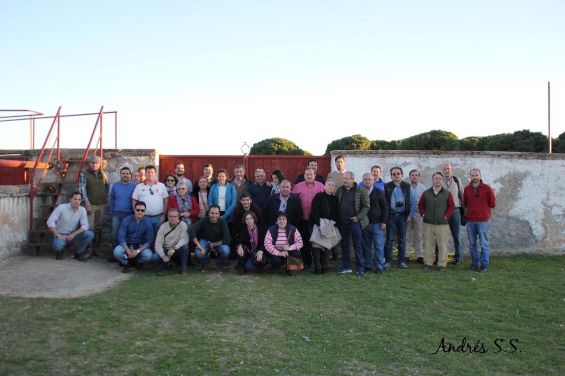 Visita a Valdellán y Raso de Portillo