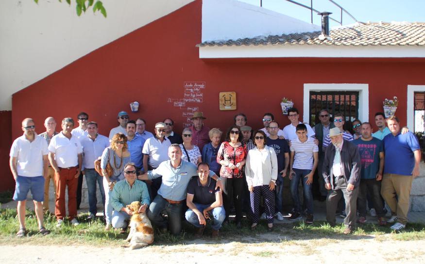Visita a Zacarías Moreno y Aurelio Hernando