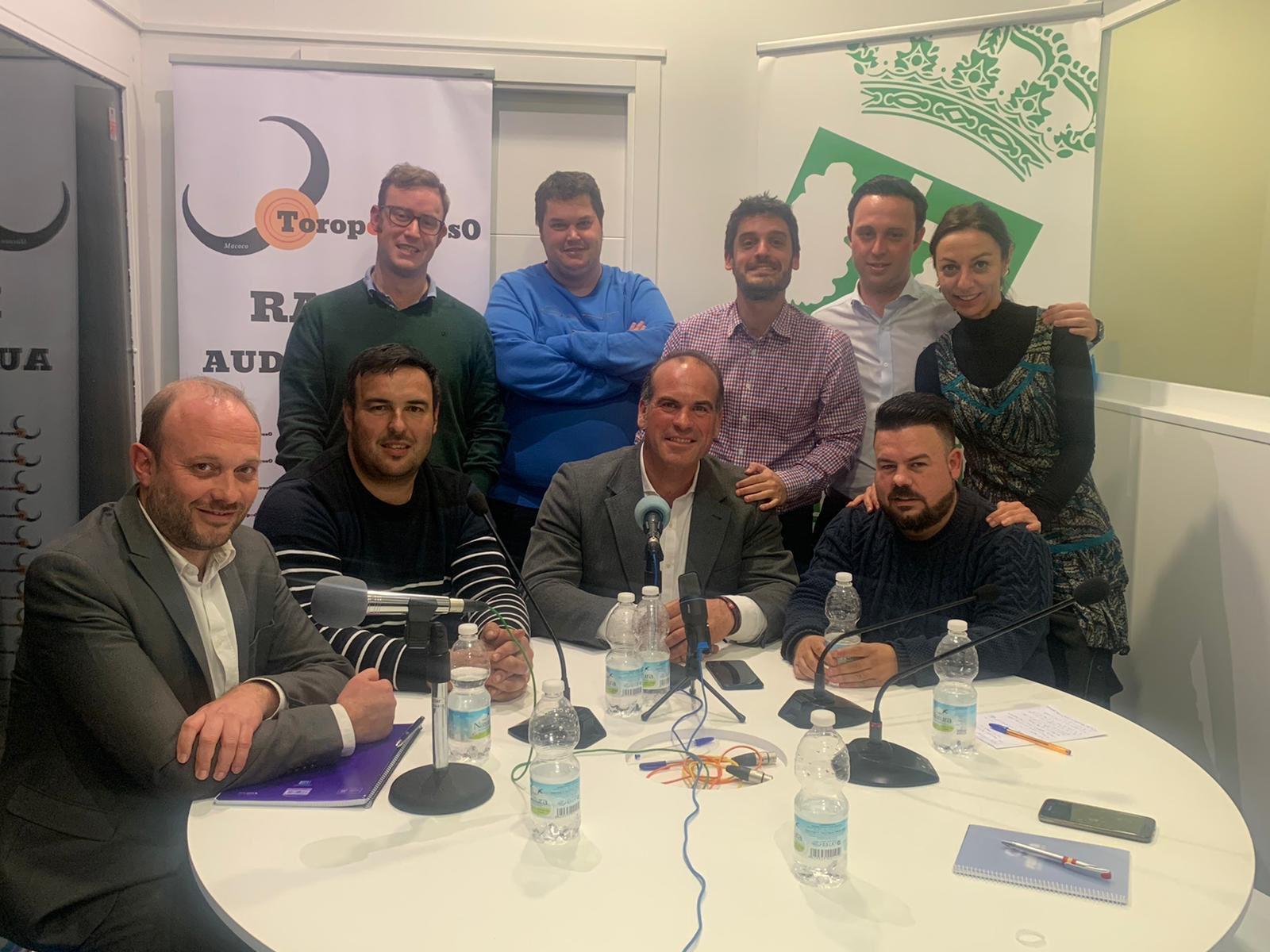 Nuestro socios en Toropoderoso - Pedro Iturralde