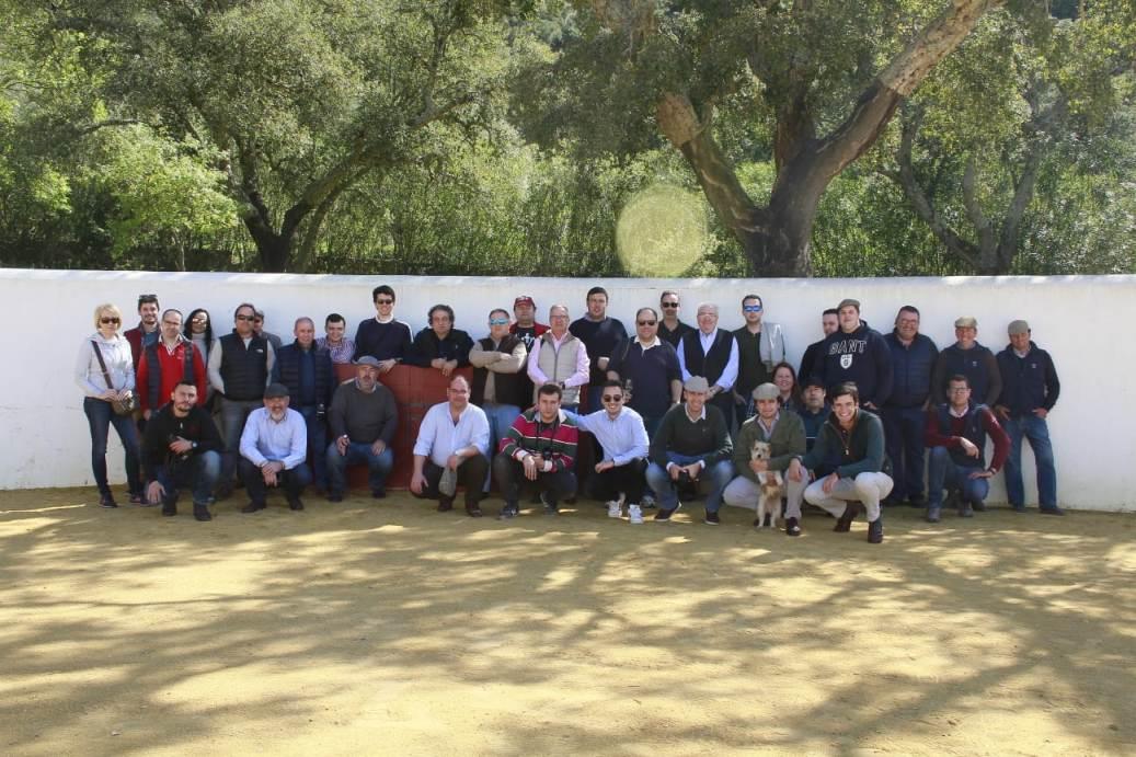 Visita Santiago Domecq, Fuente Ymbro, Torrestrella y Cebada Gago