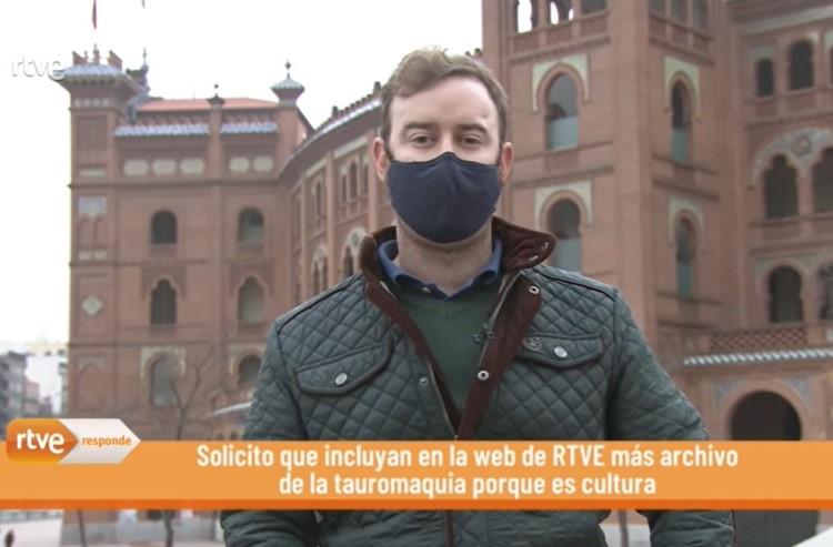 Nuestro socio Adrián Blázquez en RTVE Responde