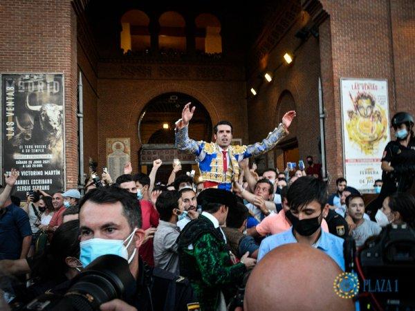 Emilio de Justo se impone al Madrid más festivo con Bisonte